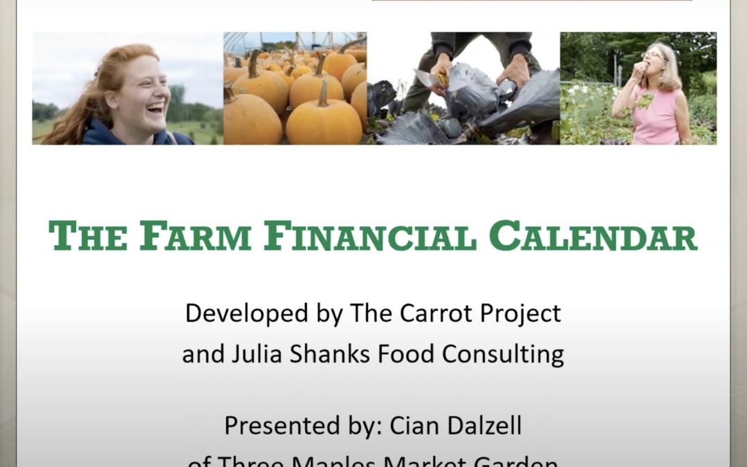Financial Management Calendar Webinar